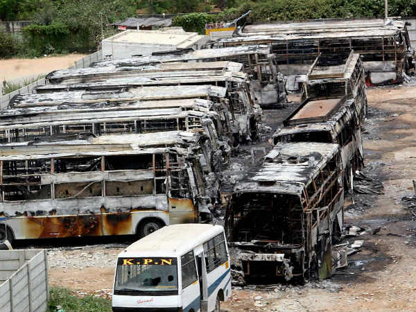 Readers comments to KPN travels bus burn