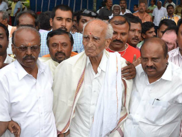 Cauvery issue : Get ready to go to jail, G Madegowda
