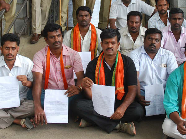 Cauvery issue : BJP leader in Mandya urges permission for euthanasia