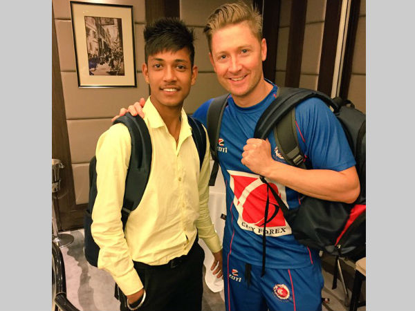 Michael Clarke sponsors Nepal teenage cricketer to play in Australia