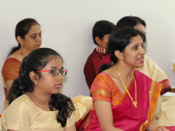 Karnataka music workshop by Ashwini Satish in Singapore