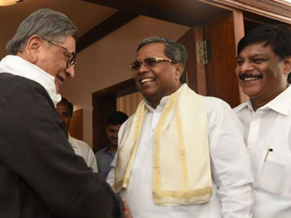 Cauvery water dispute : SM Krishna suggestions to CM Siddaramaiah