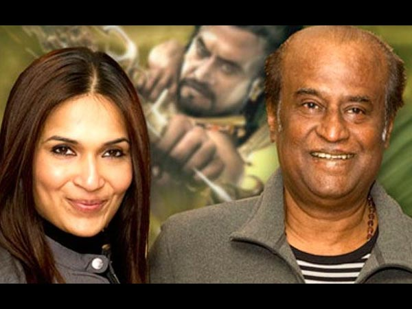 Rajanikanth daughter Soundarya divorce rumours on social media
