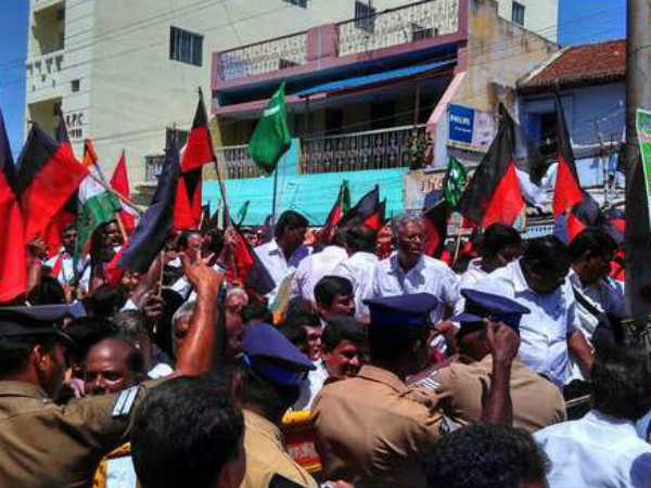 Tamilnadu bandh: MK Stalin other leaders detained