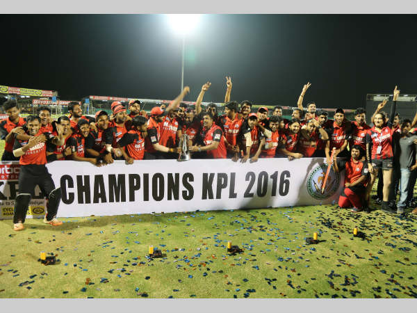 KPL Twenty20 2016: Full list of award winners