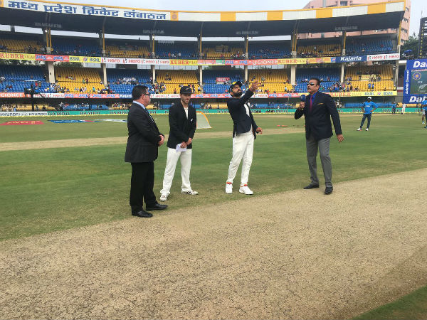 3rd Test: Kohli wins third toss in a row, India opt to bat first against New Zealand