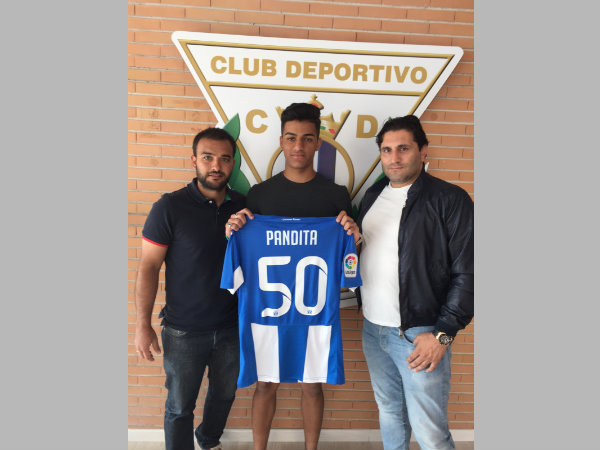 Ishan Pandita becomes first Indian footballer to sign for a La Liga club