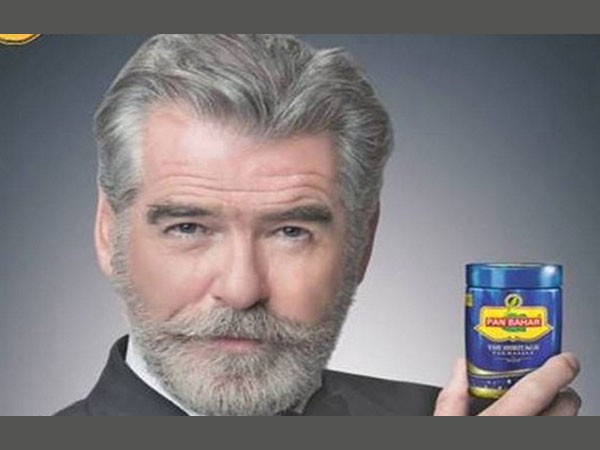 Pierce Brosnan shocked by deceptive use of his image in Pan Bahar ad