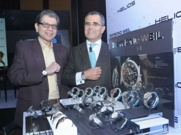 Helios partners with Raymond Weil to offer Swiss watches in India