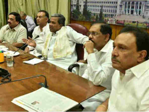 Siddaramaiah meeting