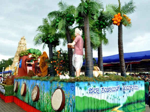 Dasara Different Districts Participated In Jamboo Savaari