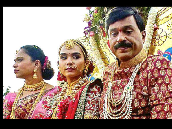 Rules are breaking in janardhan reddy daughter marriage