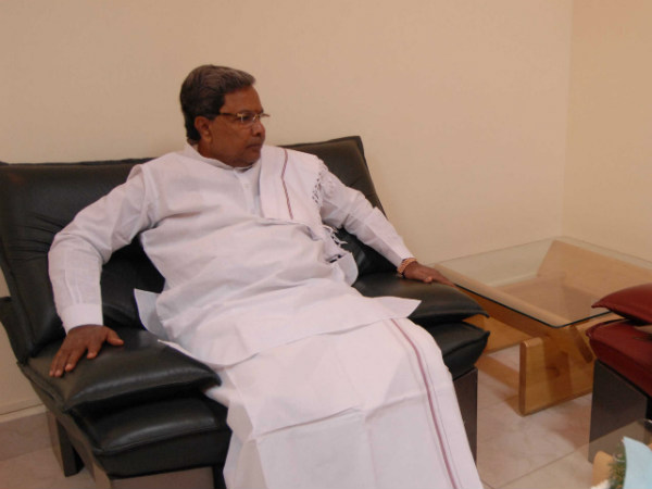 Siddaramaiah to Visit Drought affected District From November 11