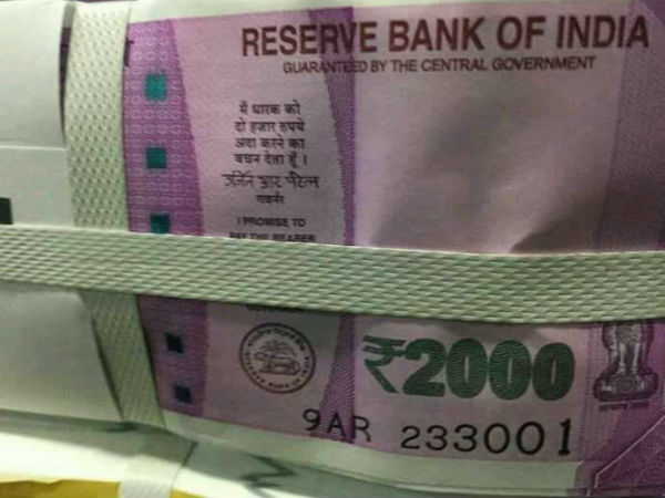 Is this new Rs2,000 bank note from RBI?