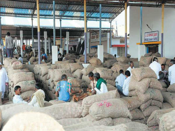 Hubballi APMC closed the sale of agricultural products from November 18