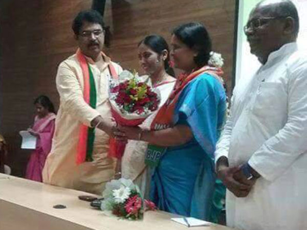 Bharathi Shetty takes charge as  President of Karnataka Mahila Morcha