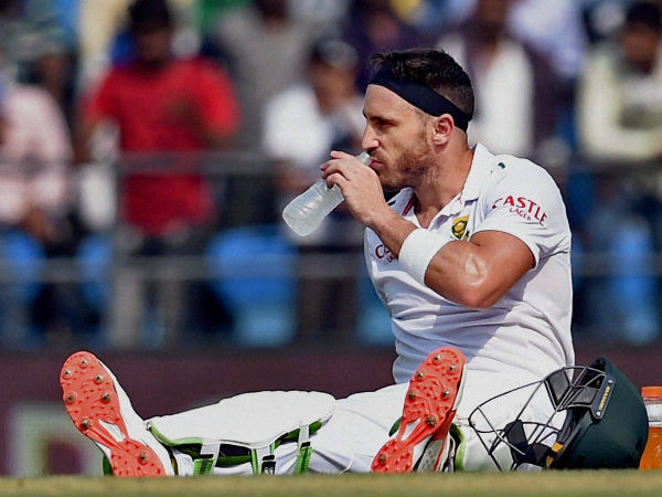 Faf du Plessis found guilty of ball tampering, fined 100% of match fee