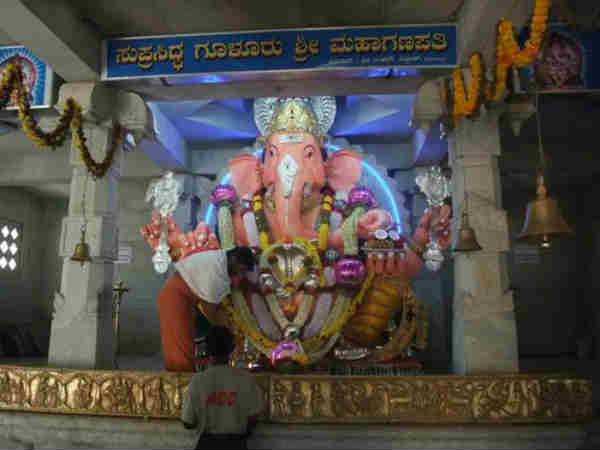 Gulur Ganesh Idol to beginning of the worship in diwali