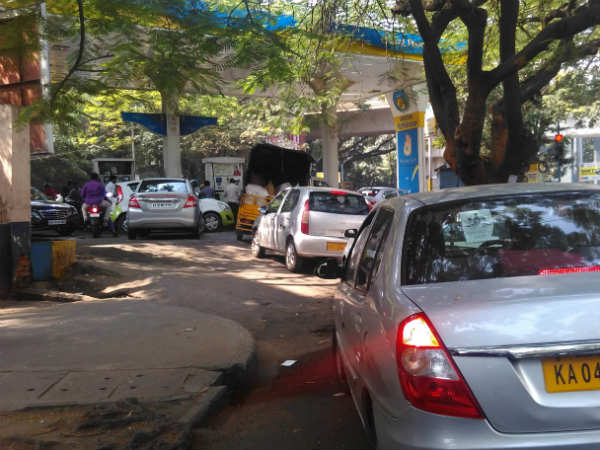 petrol bunks can refuse RS 500-1000 notes license will be ban