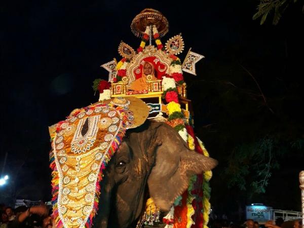 ಹೈದರಾಬಾದ್ ನಲ್ಲಿ ಸತ್ಯ ಪ್ರಮೋದ ತೀರ್ಥರ ಪಾದುಕಾ ಆರಾಧನೆ