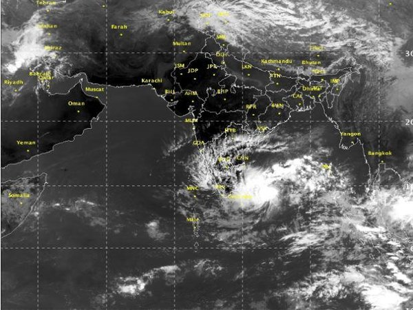 Cyclone NADA coming Tamil Nadu's way, warning issued