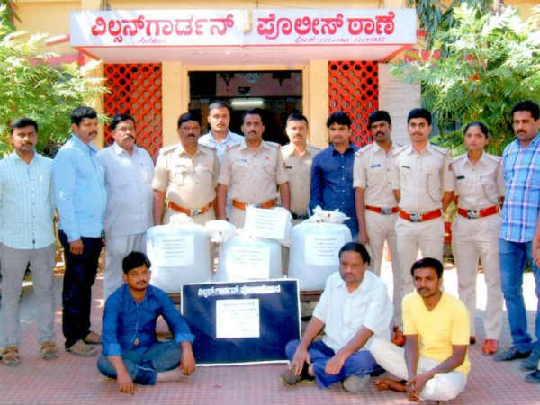 bengaluru three arrested, found 53 kg Marijuana