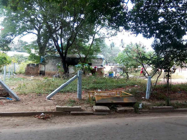 Park encroachment in Bengaluru Defency colony