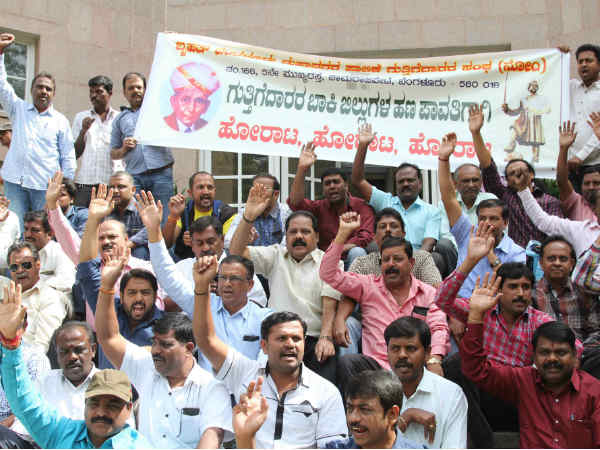 BBMP not give the money in 25 month to contractor