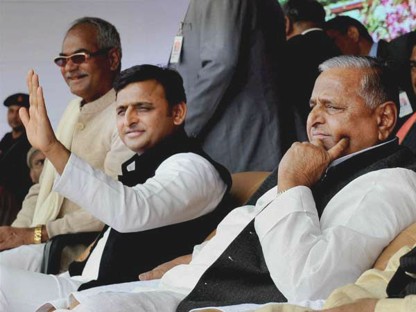The Samajwadi Party is splitting and even God can't save it