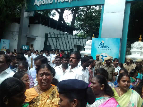 Heightened security at Apollo sparks rumours on Jayalalithaa's health