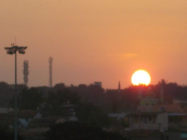 Sunset Point In Hubballi