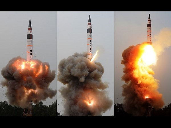 Agni-V, India's longest range nuclear missile, test launched off Odisha coast