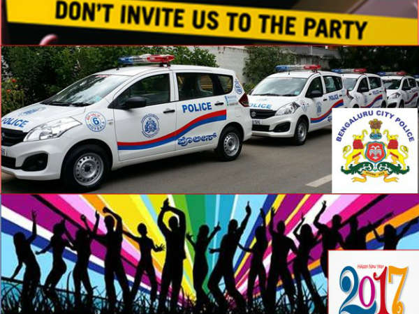 Have a safe new year celebration, say Bengaluru Police