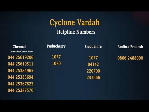 live Cyclone Vardah: Heavy rains, strong winds hit Chennai