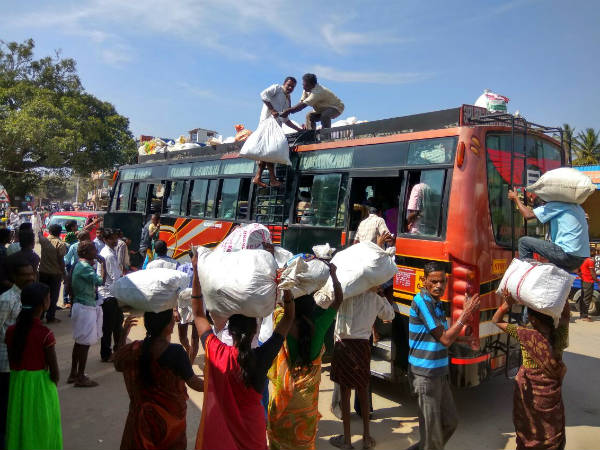 People leaving from drought hit Chamarajanagar