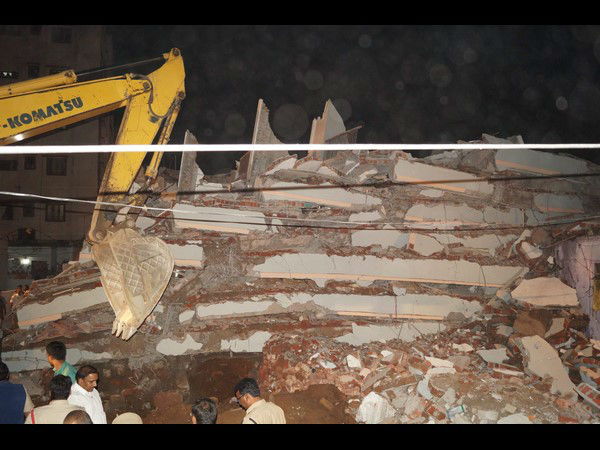 4 Dead After 6-Storey Building Collapses In Hyderabad