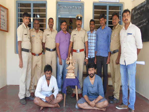 Nambi Narayana temple idol theft two accused arrested