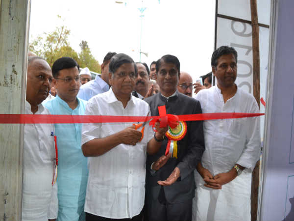 Ex CM Jagadish Shetter inagurated incomex-2016 industrial exhibition at hubballi