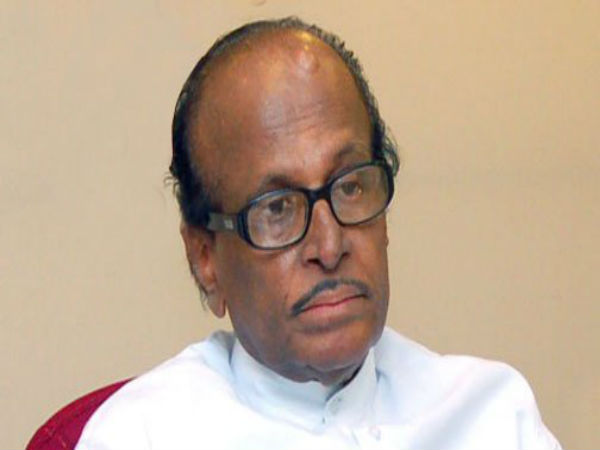 Has Congress served show-cause notice to former minister janardhana Poojary