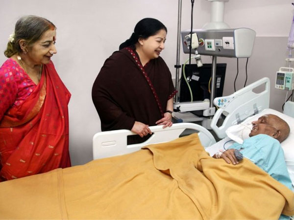 Critical in the same hospital, Cho didn't know of Jaya's death