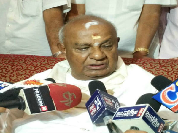 Jds Will Face Election Under The Leadership Kumaraswamy Hd Deve Gowda