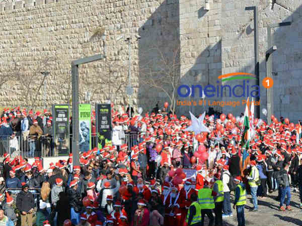 Mangaloreans in Israel organize Paadayatra from jerusalem to bethlehem