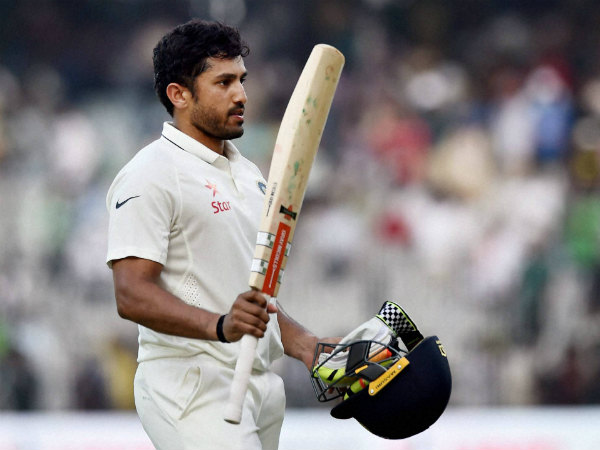 Triple centurion Karun Nair claims unwanted Test record