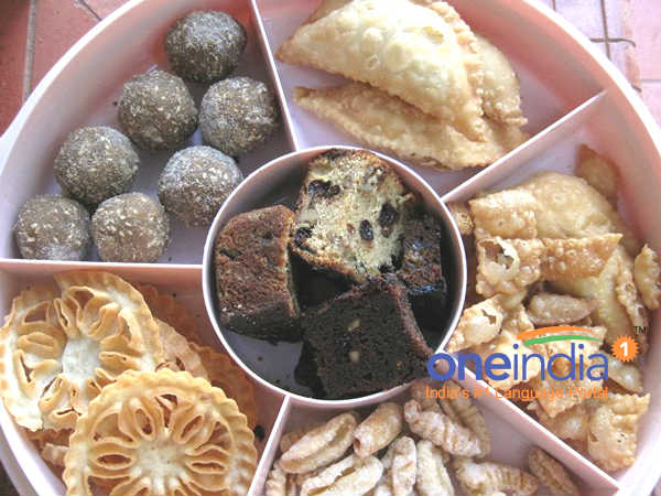 delicious Cakes and Kuswar ready at mangaluru for Christmas