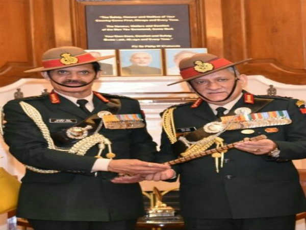 Bipin Rawat takes over as new Indian Army chief