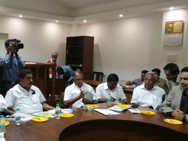Minister Ramanath Rai, strongly expressed his displeasure against Highway Authority officer