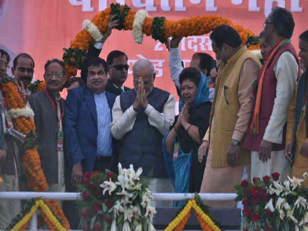 Corruption must be eliminated in all levels, PM Modi in Parivartan rally