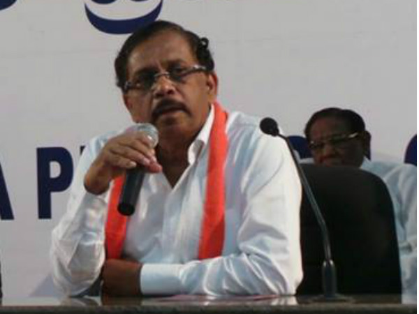 Home minister G Parameshwar retaliate to MP Pratap Simha