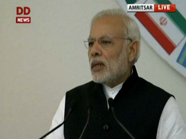 Narendra Modi calls for support against terror at Heart of Asia Summit