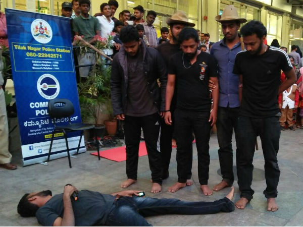 A Street Play for awareness about Crime